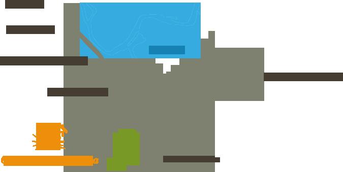 Расположение земелных участков Солнечной Долины