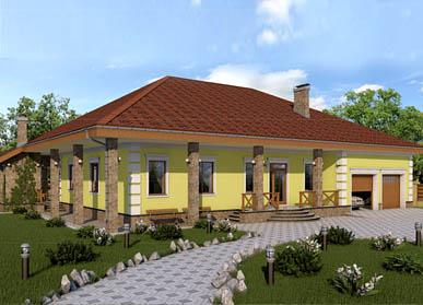 Проект дома К-12