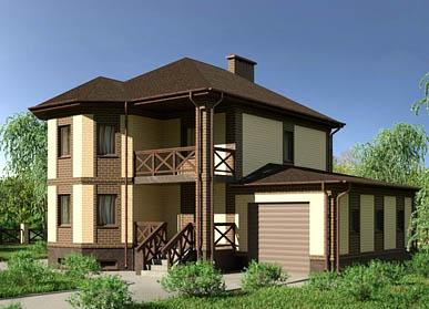 Проект дома К-09