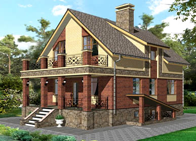 Проект дома К-06