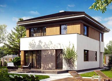 Проект дома из СИП-панелей С-09