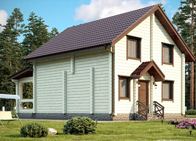 Проект дома «Беларусь»